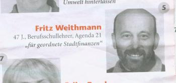 Brufschul-Lehrer Weidtmann kandidiert für die Rechts-Öko-Partei ÖDP